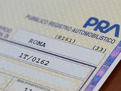 Fermo amministrativo e credito vantato